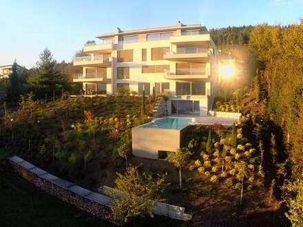 Pörtschach/Wörthersee: RESERVIERT!!!! Wohntraum de luxe mit unverbaubarer Seeblickterrasse zur Miete