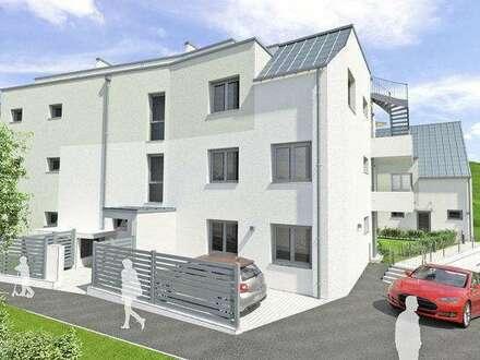 Neubau Balkon-Wohnung   61m² WFL+21m² Balkon   Top 10 Var.