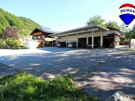 Garage, Lager, Carport und Freilagerfläche zu vermieten