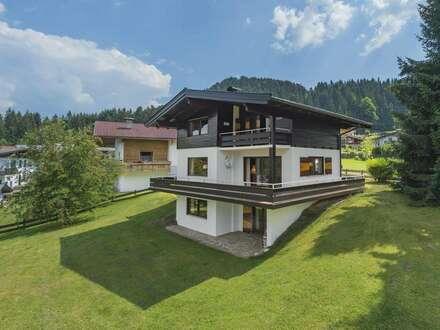 Traditionelles Einfamilienhaus mit Kaiserblick