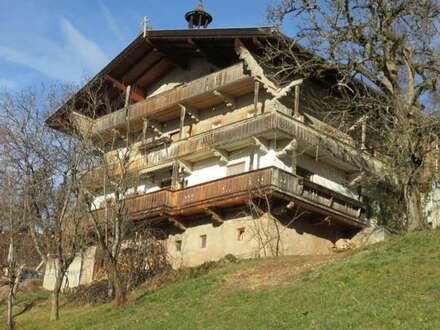 Nur Gebäudeverkauf: Original Tiroler Bauernhaus zum Abtragen und Wiederaufbauen