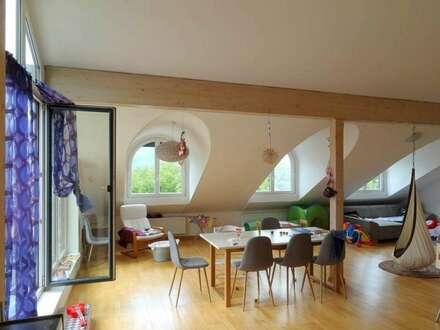Dachgeschoßwohnung Miete, mit großer Terrasse