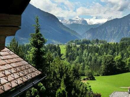 Großzügiges Landhaus mit phantastischem Dachstein- und Panoramablick in Altaussee, provisionsfrei