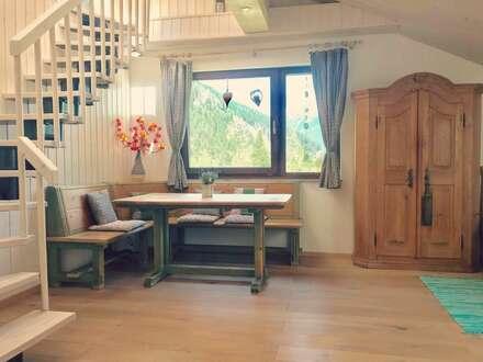 Traumhaft schön! Stilvolle, frisch ausgebaute Maisonette Wohnung in Bad Gastein/Böckstein