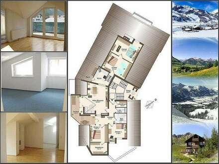 TOP-Preis: 5-Zimmerwohnung mit Terrasse und Tiefgarage