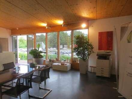 Büro- und Geschäftsflächen mit Lager oder Werkstätte zu mieten