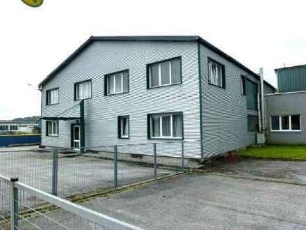 Lagerhallen mit Büroflächen in der Stadtgemeinde Fürstenfeld zu Mieten!