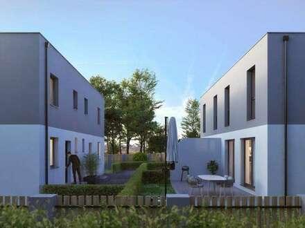 Schönes Neubauprojekt mit Eigengärten und Terrassen! 2 Doppelhäuser in Ruhelage!