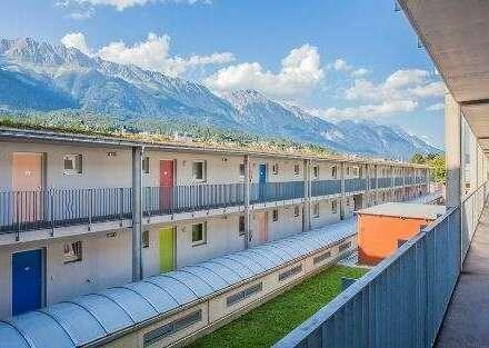 Wohnen in Stadtnähe / Campus West mit 2 Zimmern und Balkon