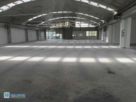 Industriehalle - komplett freitragend - in Salzburg`s Süden zu vermieten