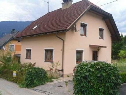 TOP PREIS - Wohnhaus mit Nebengebäude in Feistritz /Drau