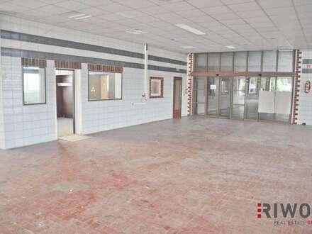 Multifunktionshalle mit ca. 676m²! Auch für Verkauf geeignet!