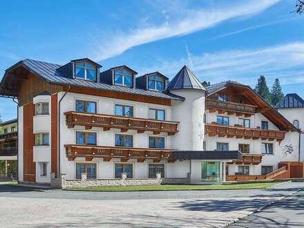 modernes Hotel mit Ganzjahresbetrieb