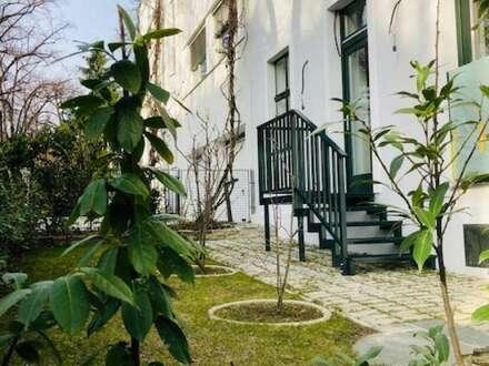Ruhelage Gersthof: Neu sanierte, großzügige Garten Maisonette