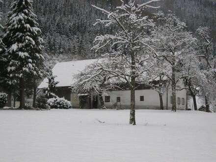 Idyllisches Landhaus mit Garten und Panorama-Traunstein-Blick zu Mieten