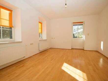 Renovierte 3 Zimmerwohnung mit Garage und Garten