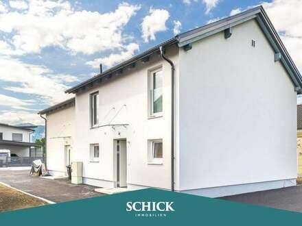 INTELLIGENTES ZUHAUSE | Neubau-Doppelhaushälfte in Vassach: Erstbezug - Garten - Smart Home - Doppelcarport