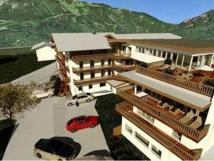 Top 2-Zimmer-Neubauwohnung in sehr ruhiger Lage von Kramsach
