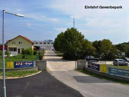 Industriegelände - Lagerhalle / Werkstatt! 850m2! Rolltore! LKW-Rampe! 10min nach Eisenstadt!