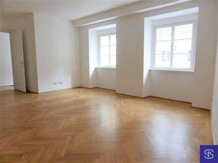 Toplage: 84m² Altbau mit Einbauküche am Franziskanerplatz - 1010 Wien