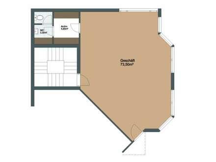 Kleine Büro- / Geschäftsfläche direkt in Bludenz