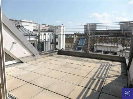 Erstbezug: unbefristete 136m² DG-Wohnung beim Naschmarkt - 1060 Wien