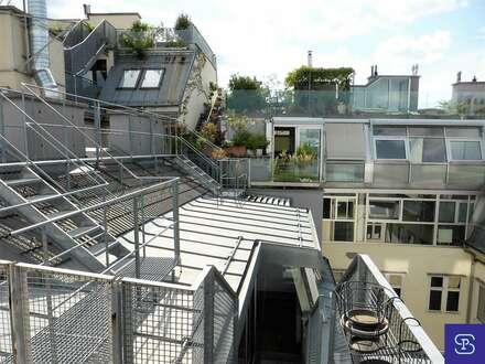 Unbefristete 85m² Dachwohnung + 15m² Terrasse in Toplage - 1070 Wien