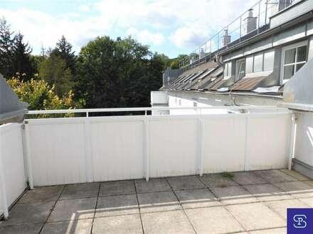 Unbefristete 56m² DG-Wohnung + 11m² Terrasse mit Einbauküche - 1130 Wien