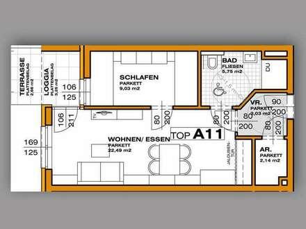Terassenwohnung in exklusiver Seniorenresidenz nahe der Kulturstadt Salzburg