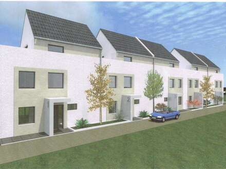 Reihenhaus mit großzügigem Wohnbereich und Blick ins Grüne