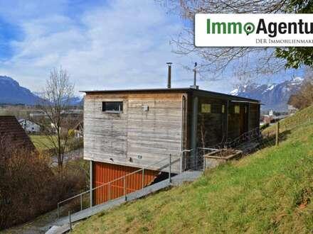 Rarität: Kleines Haus mit großem Grundstück und herrlicher Aussicht am Waldrand in Klaus