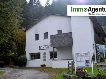 Einzigartig gelegen Gaststätte / Pizzeria mit großzügiger Wohnung zur Pacht in Dornbirn