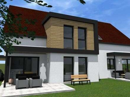 Neubau Doppelhaushälfte in idyllischer Lage in Dobl-Zwaring