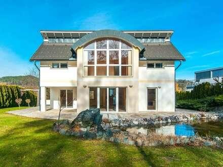 Wohnen & Arbeiten in moderner Villa im Keutschacher Seental
