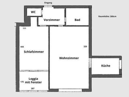 Ruhige Single-/Pärchenwohnung in zentraler Leonding Lage