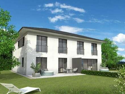 VERKAUFT!  Leistbare Doppelhaushälfte in zentraler Grünruhelage. Baubeginn bereits erfolgt.