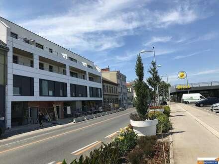 Neubau Wohnhausanlage mit bester Verkehrsanbindung, beziehbar 2019: Wohnungen, Geschäftslokal, Ordination und Büros...