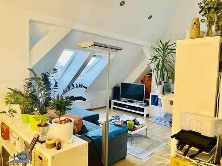 3-Zimmer-Dachgeschosstraum mit Gartennutzung in wunderschön saniertem Altbau Nähe Thermalstrandbad Baden