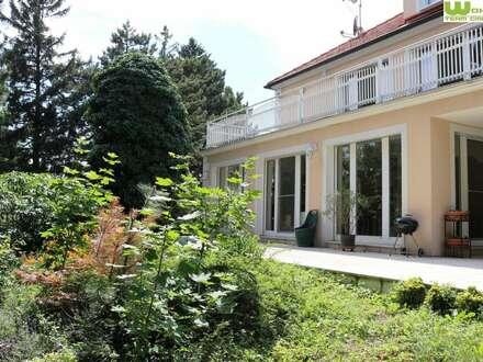Bestlage Cottage! 1407m² GRUNDSTÜCK mit wunderbarer VILLA, nichteinsehbarer, ebener Garten!