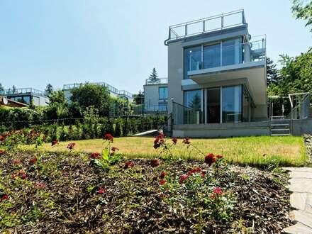 Exklusives und exquisit ausgeführtes Kleingartenhaus in Neustift am Walde mit unverbaubarer Fernsicht auf die Weinberge,…