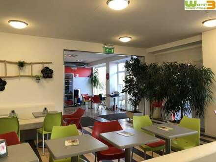 Geschäftslokal mit Gastro Genehmigung - großer Gastgarten - Hauptstraße