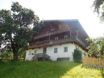 Großes Komfort Bauernhaus mit Sauna in atemberaubender Alleinlage für 2-3 Familien/Firma oder Verein mietbar - Nähe Skigebiet…
