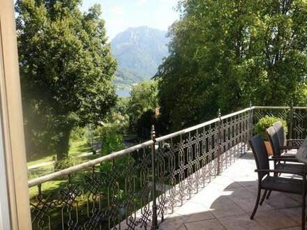 Helle , großzügige Wohnung in Jahrhundertwendevilla mit See- und Gebirgsblick