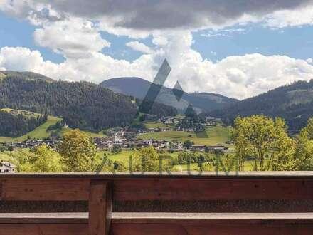 Penthouse mit Berg- & Fernblick auf der Sonnenseite