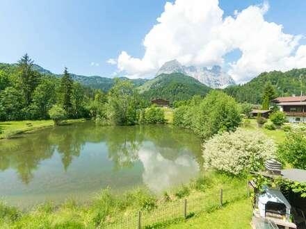 Landhausidylle am Teich und Kaiserblick!