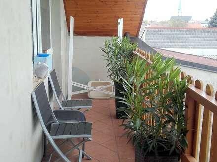 sonnige Eigentumswohnung nahe Wien mit eigenem Garten