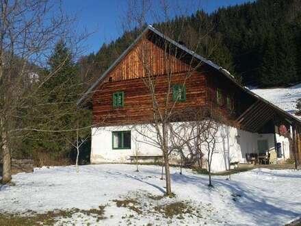 ALLEINLAGE mit ALM-Flair - Anwesen inmitten von Almwiesen, Wald und Weiden - Ennstal, Altenmarkt bei St. Gallen