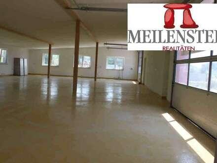 Gewerbehalle ca. 240 m2 + Büro + Nebenräume ca. 110 m2 in Eggelsberg!