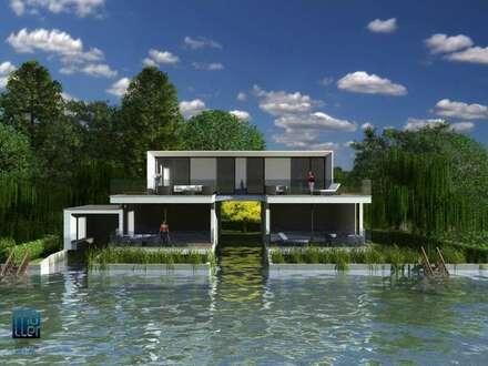 Wörthersee/Ost: Erstbezug - Exklusive Mietwohnung am Wasser mit eigenem Gartenanteil und KFZ-Abstellplatz zu mieten