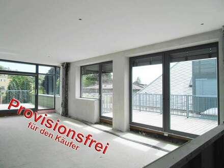 Dachterrassen Wohnung mit Freisicht